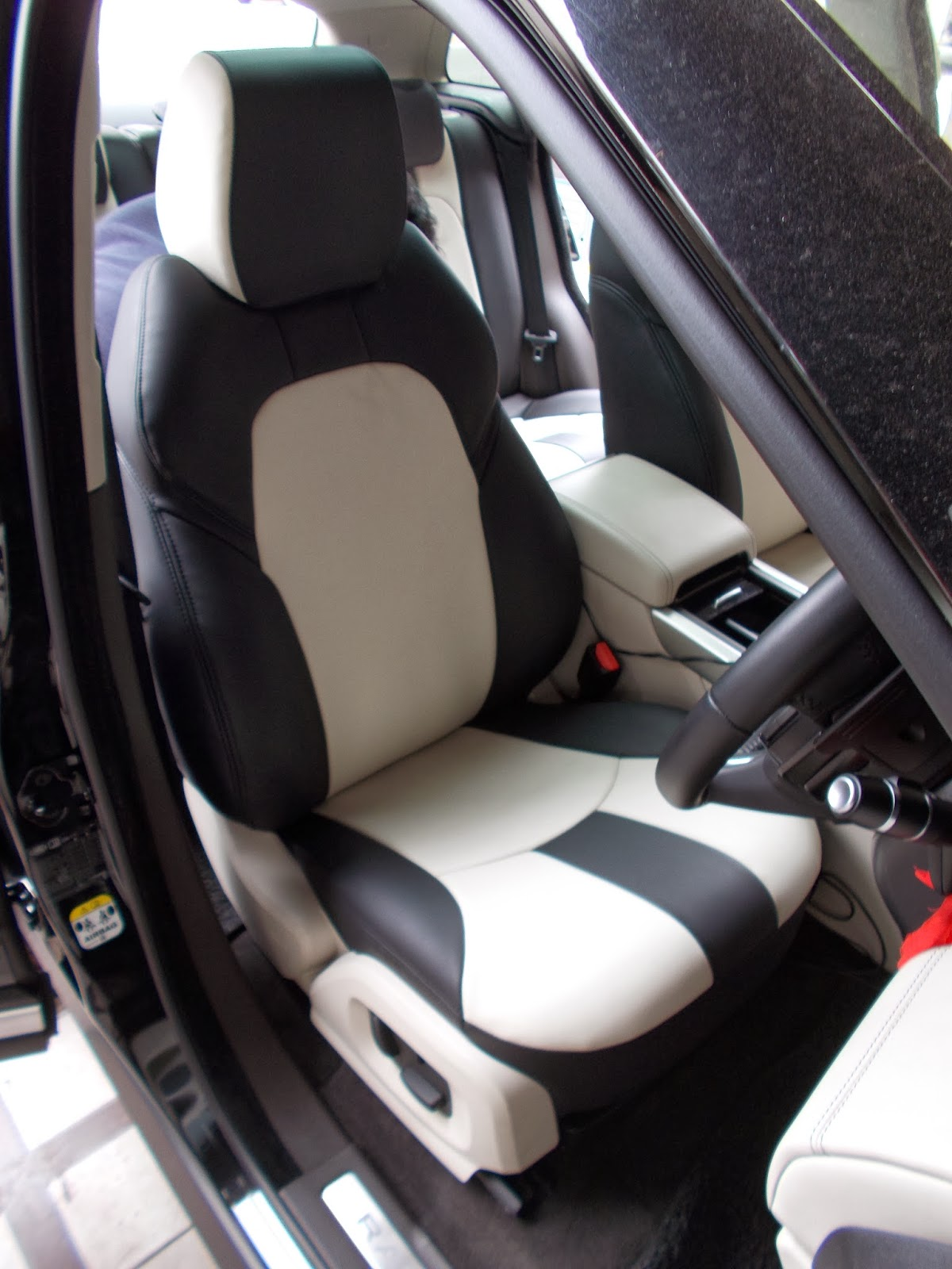 Car Body Kits >> Range Rover Evoque 2013 Leather Seat Covers With Full ...