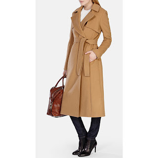 Fashion For Linda Karen Millen Longline Trench Coat
