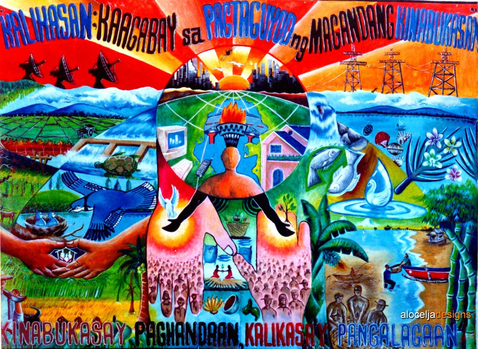 aloceljadesigns: Kalikasan; Kaagabay sa Pagtaguyod ng ...