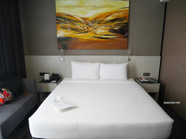 My comfy room at eCity Hotel, One City, Subang Jaya
