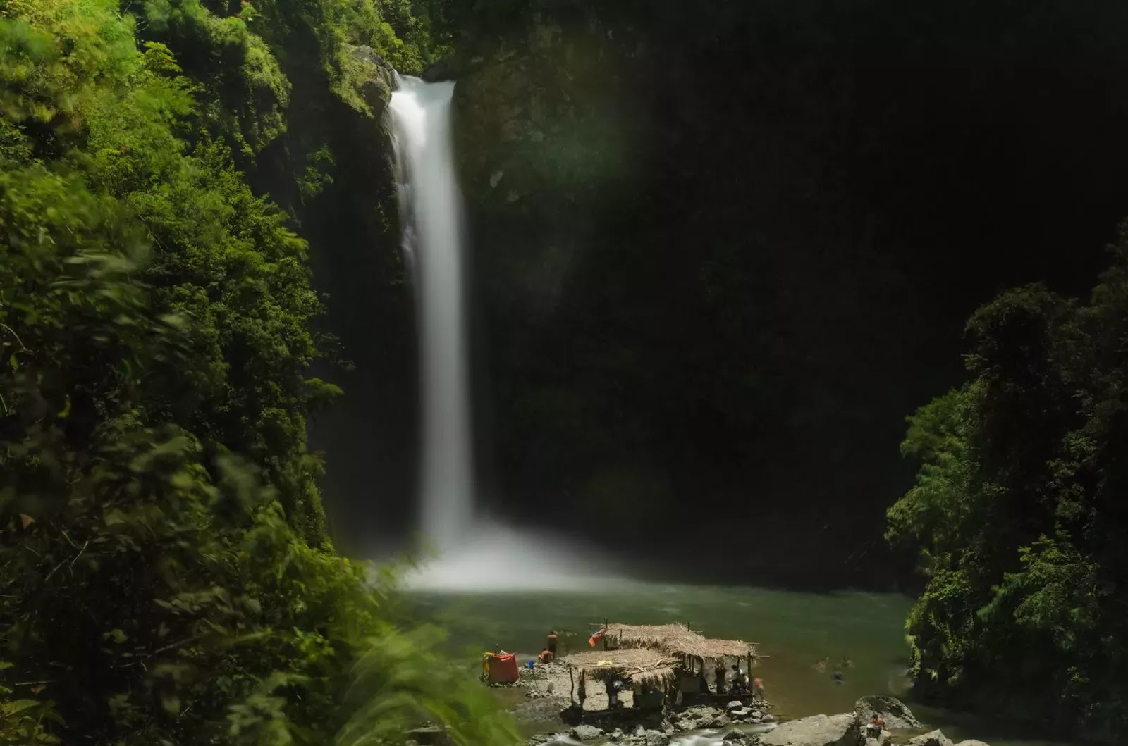 Tappiyah Waterfalls Deck  Stop Over Exposure Photography Batad Ifugao Cordillera Administrative Region Philippines