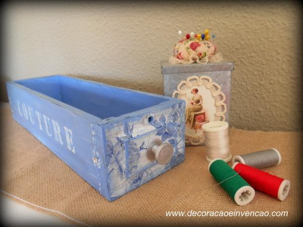 reciclagem gavetas