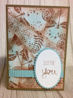Retiform technique just for you zena kennedy independent stampin up demonstrator