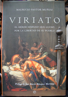 Portada del libro Viriato, de Mauricio Pastor Muñoz