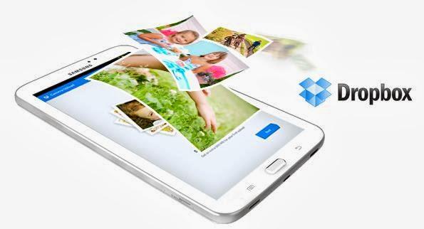 Get 50 GB Free Dropbox Storage With Samsung Galaxy Tab 3