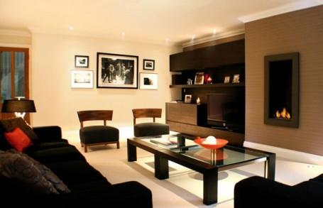 Nội thất gam màu đen không bao giờ lỗi mốt: từ bộ sofa, bàn café cho đến tủ kệ lưu trữ