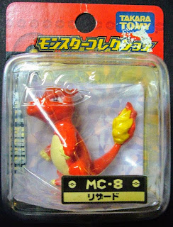Charmeleon figure Takara Tomy Monster Collection MC series