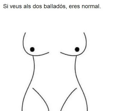 Si ves a los dos bailarines, eres normal