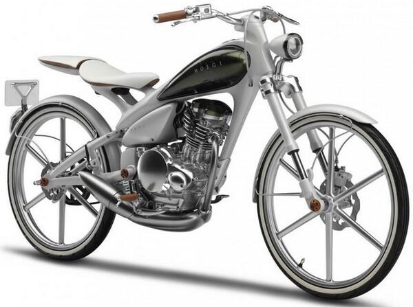 Yamaha Y125 MOEGI Motorcycle Concept