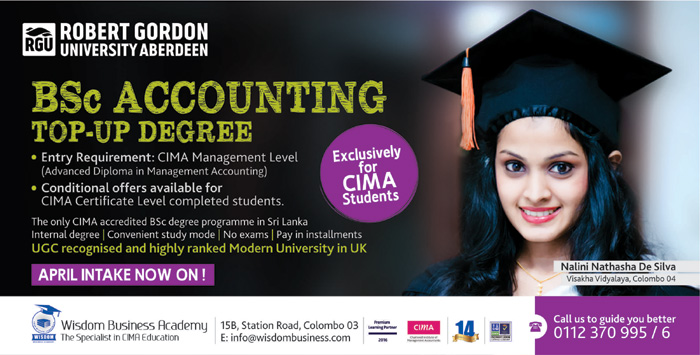 The primary aim of the WISDOM BUSINESS ACADEMY is to provide solid academic assistance for students to face CIMA examinations confidently. WISDOM id exclusively geared for this purpose. Success at the CIMA examinations is synonymous with Wisdom because of the numerous credentials under our belt.
