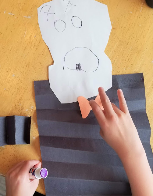 Preschool Skeleton Craft