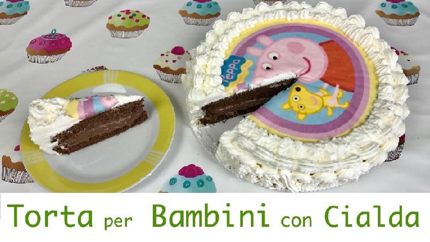 Prima del Caffè Soddisfazioni in cucina: TORTA PER BAMBINI CON ...