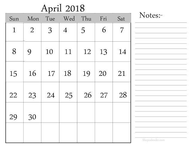 April 2018 Calendar, April 2018 Calendar Printable, April 2018 Calendar Template, April 2018 Blank Calendar, April 2018 Printable Calendar, April Calendar 2018, Calendar April 2018, April 2018 Calendar Holidays, April 2018 Calendar Portrait, April 2018 Calendar PDF, April 2018 Calendar Excel, April 2018 Calendar PDF