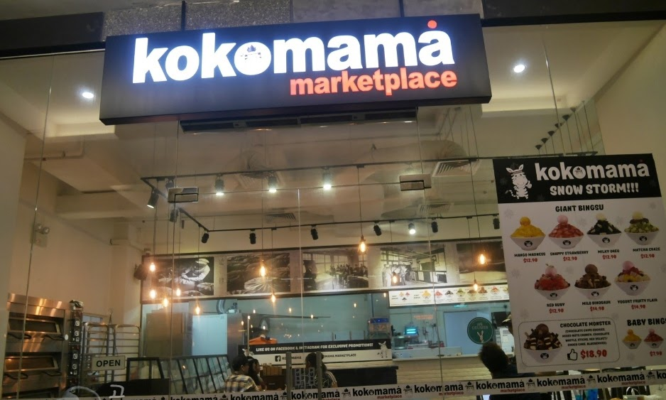 KOKOMAMA Market Place: Eat yourself a variety at SOTA's fusion bistro