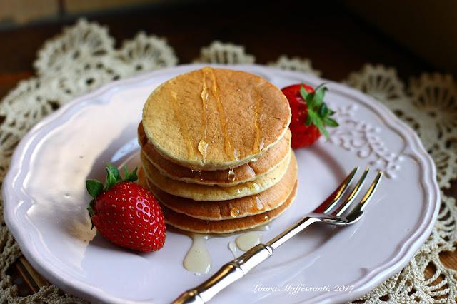 pancake proteici banana ricetta