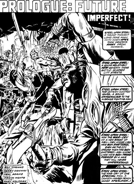 Neal Adams, Apeslayer