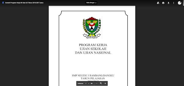 Pembentukan Panitia Ujian Nasional dan Ujian Sekolah
