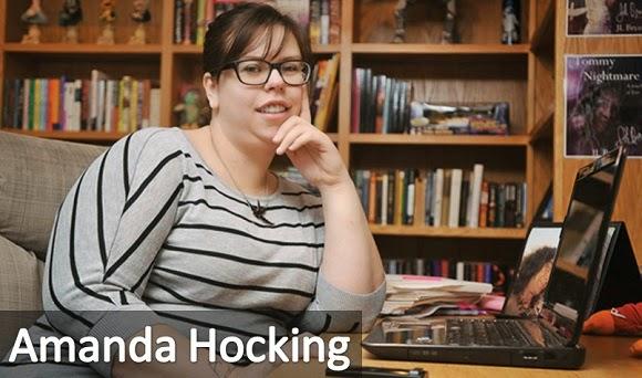 La exitosa escritora Amanda Hocking
