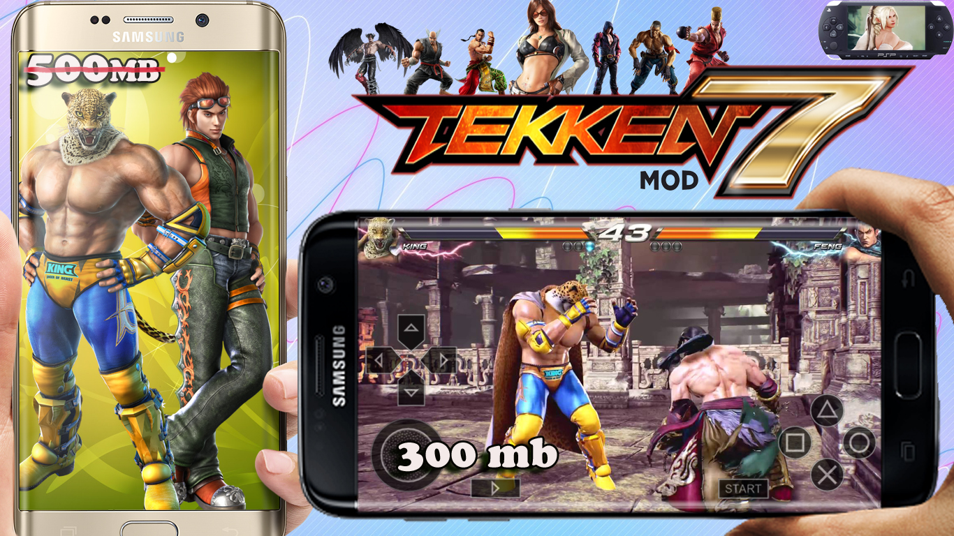 Tekken_7 highly compressed iso free download Android