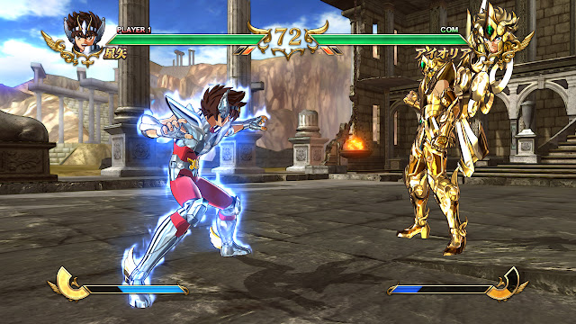 Saint Seiya Soldiers Soul PC Download Gameplay