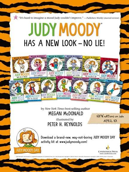 Judy Moody book collection relaunch