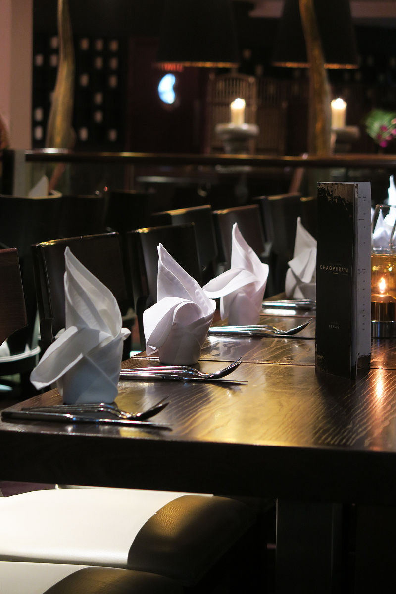 Interior decor of Chaophraya Leeds