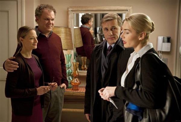 Les deux couples dans Carnage, de Polanski (2011)