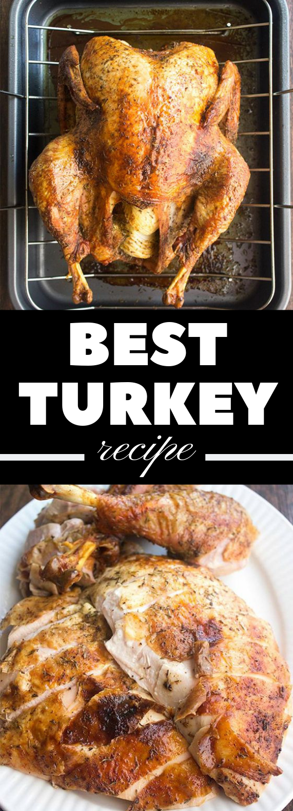 BEST THANKSGIVING TURKEY RECIPE (HOW TO COOK A TURKEY) #ThanksgivingTurkey #Turkeyrecipe