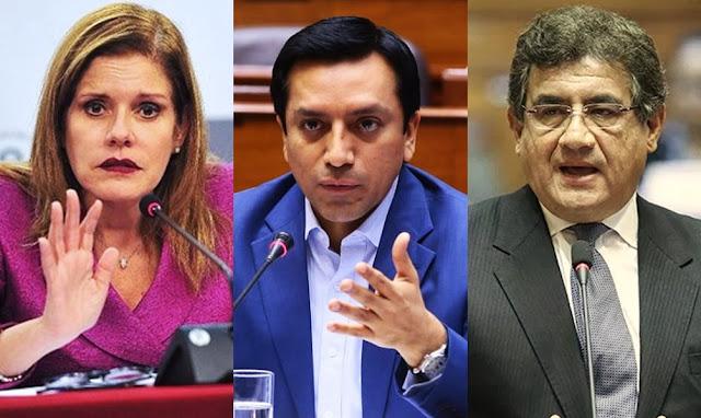 Mercedes Aráoz, Gilbert Violeta, Juan Sheput