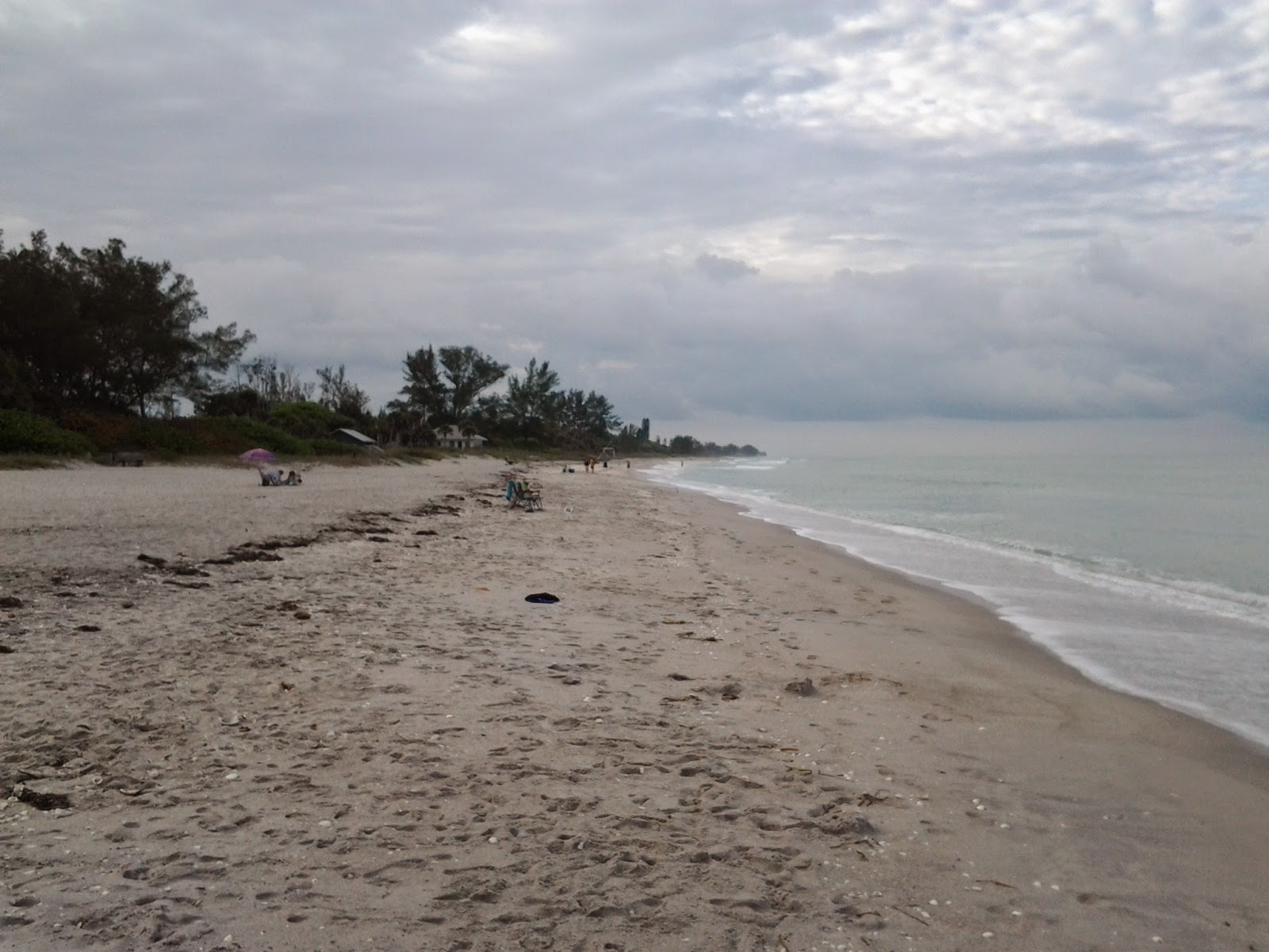 Manasota Key beach facing south