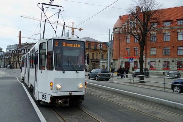 estonie tallinn tram transport