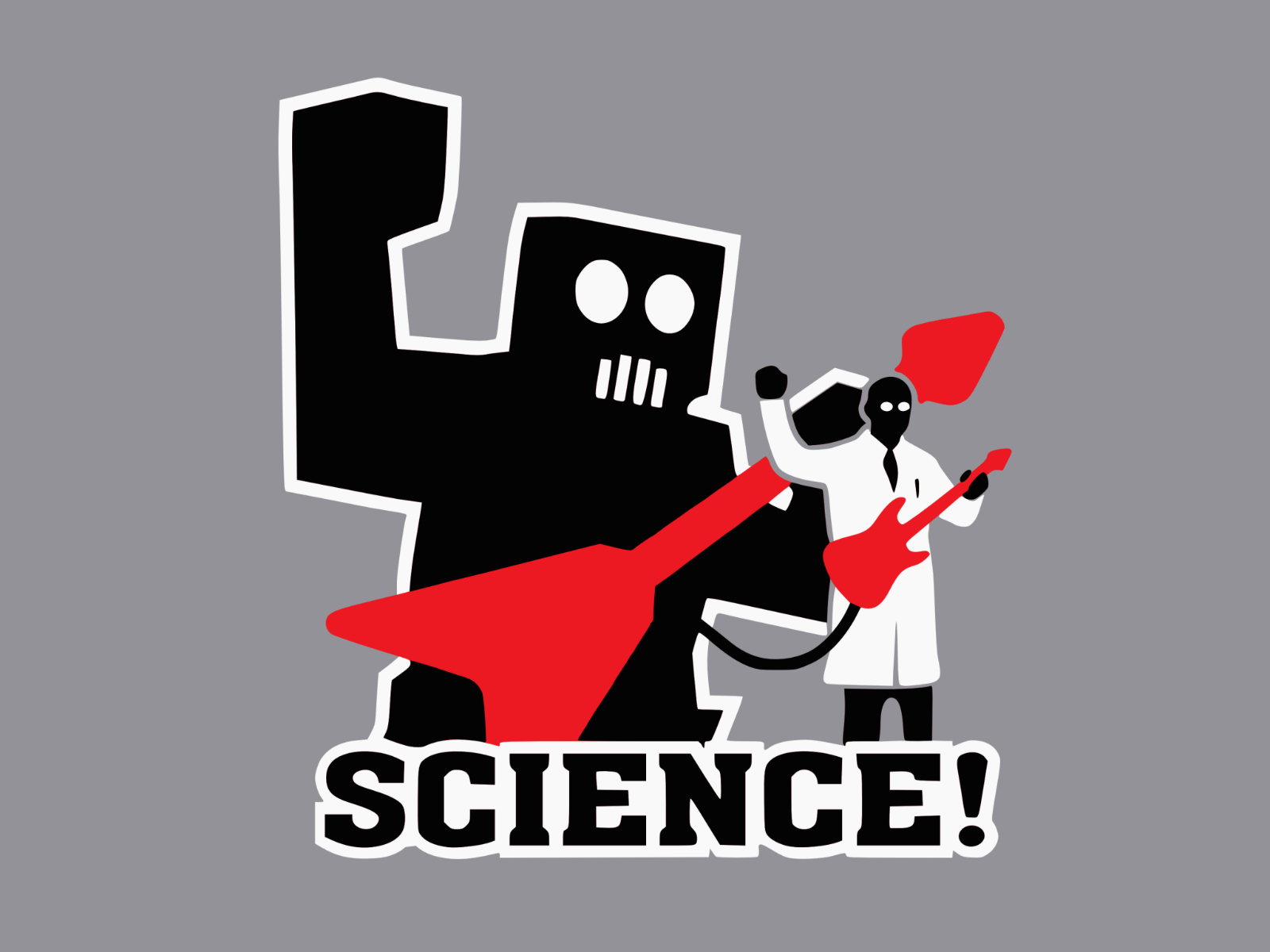 science funny wallpapers illustration anime backgrounds scientists shirts social pc awesome robot rocks tee advertising internet 3d robots stand
