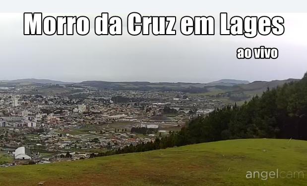Câmera ao vivo do Morro da Cruz em Lages
