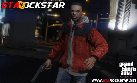 Mod Skin Luis Lopez Completa para GTA V PC