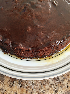 Gluten Free Chocolate Cake Recipe with Maple Butter Syrup