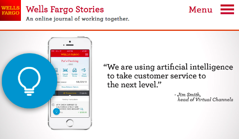 Wells Fargo Stories – AI Predictions
