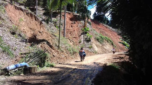 Jalan Poros Sabbang-Seko Sudah Bisa Dilalui