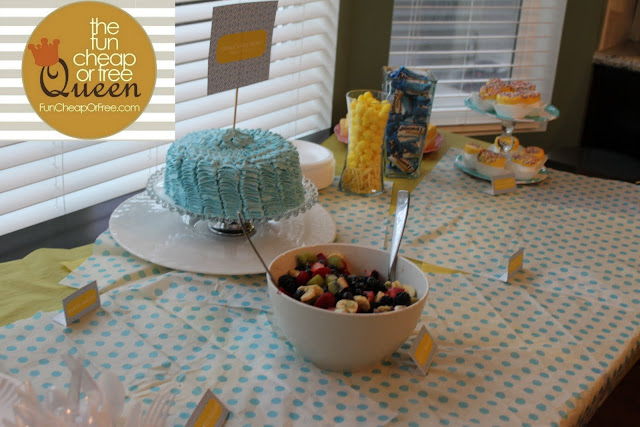 Tons Of Ideas For A Fun Cheap Or Free Baby Shower Or