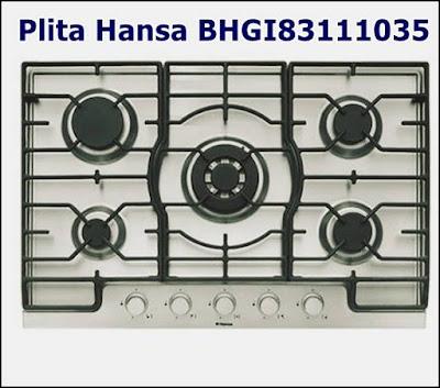 Pareri pozitive plita incorporabila Hansa BHGI83111035