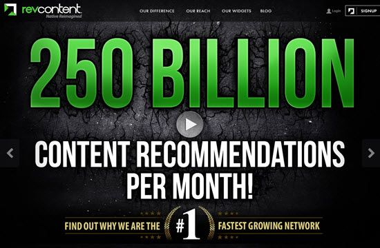 RevContent, how to earn from RevContent