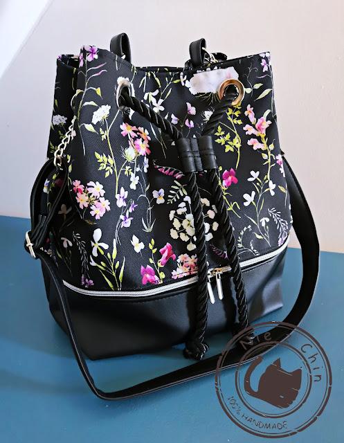 Moja wiosenna torba BUCKET BAG
