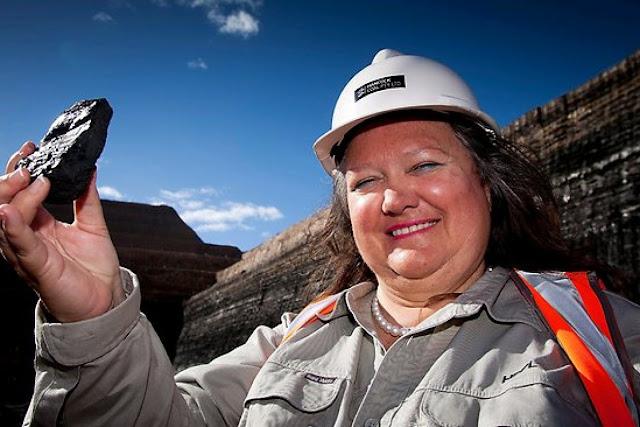 Gina Rinehart, Ratu Pertambangan Terbesar Australia