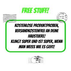 probiere Produkte kostenlos