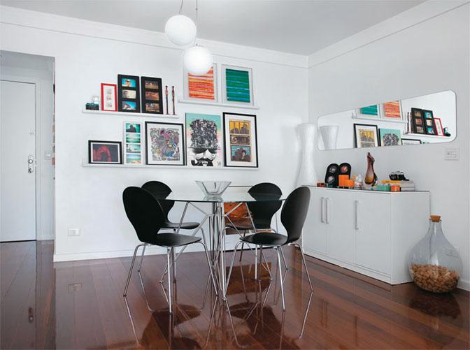 Os Melhores Quadros Pequenos Para: 20 Salas De Jantar Para Apartamentos Pequenos