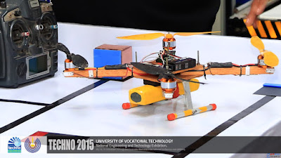 QuardCopters by E-Club of University of Vocational Technology