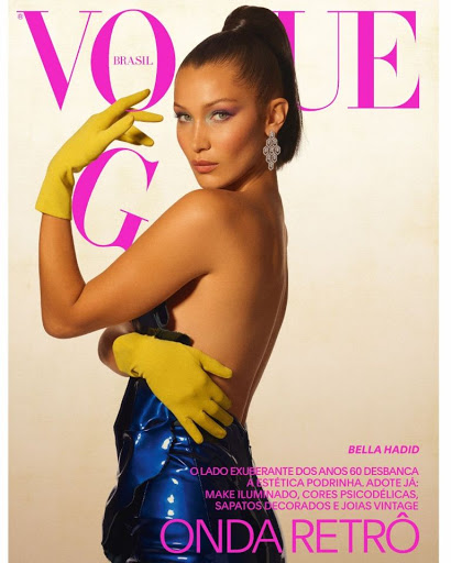 Bella Hadid Vogue Magazine Brazil September 2017 photos