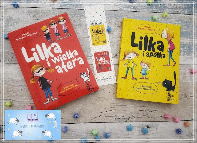 Książeczki do poduszeczki || Magdalena Witkiewicz - Lilka i spółka & Lilka i wielka afera