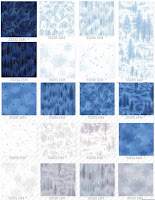 Forest Frost II fabrics from Moda