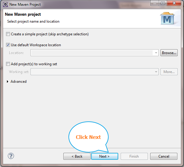 Software testing tutorials and automation: Create New Maven