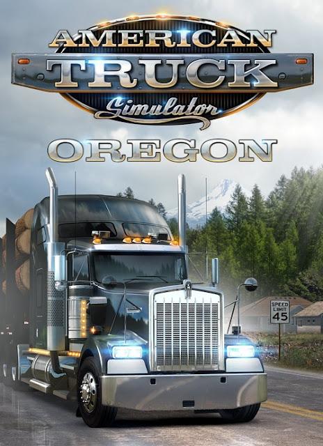 تحميل لعبهAmerican Truck Simulator  Oregon 2018  للكمبيوتر